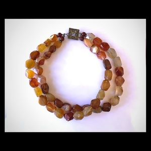 Authentic Amber Necklace (double strand)